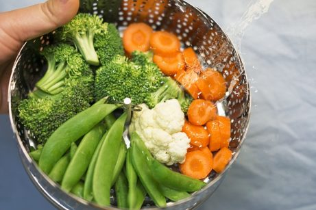 zelenina v pare