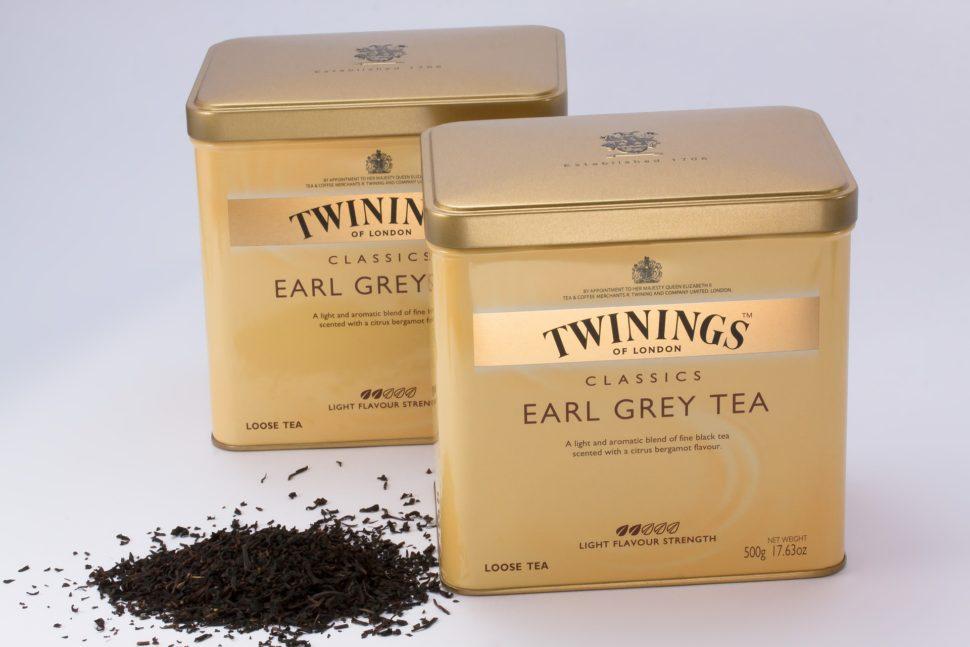 bergamotový olej aearl grey čaj