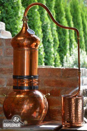 destilačná kolóna